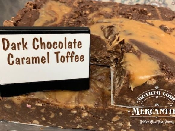 Dark Chocolate Caramel Toffee